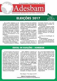 Jornal da Adesbam – Edição Especial – Março de 2017