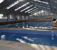 Adesbam inaugurou escola de natação no dia 16 de maio
